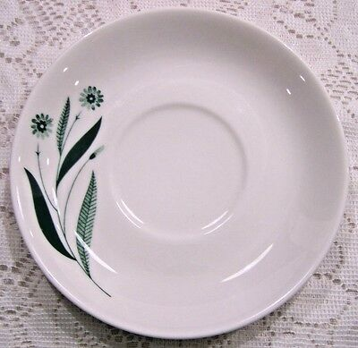 Homer Laughlin Saucers Green Field Small Plates Set Of 10 Replacement Pieces