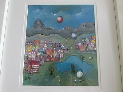 """Bill Tolley limited edition signed print """"Out of the Blue"""""""