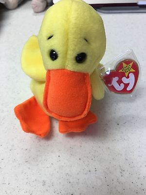 TY Beanie Baby Collection - Quackers