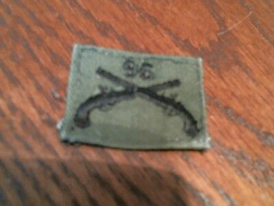 US Military Army Green 96 Reg Military Police MP Officer Badge Patch USED sew on
