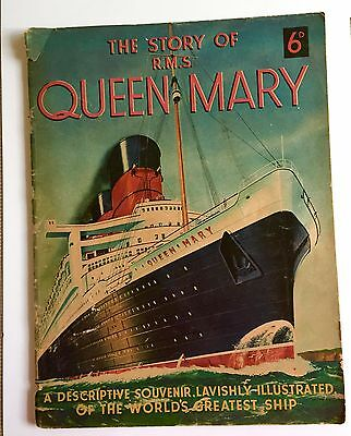The Story of RMS Queen Mary Souvenir Book 1936