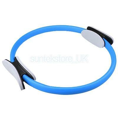 Magic Pilates Yoga Ring Exercise Gym Circles Resistance Fitness Circle Blue