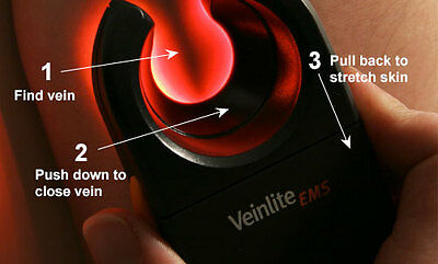 Veinlite EMS Adult Baby Vein Finder Transilluminator