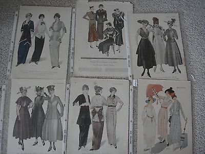 1900-1919 Vintage Fashion Print Ads 32  from McCall's, Delineator, Harpers, etc+