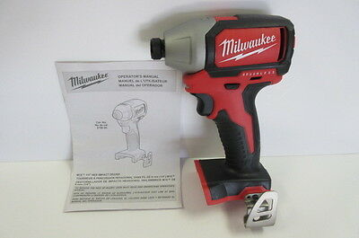"Milwaukee 2750-20 18V 1/4"" Impact Driver Brushless (Bare Tool) New"