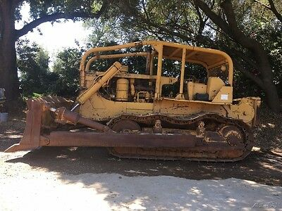1962 Caterpillar D84 H Crawler Dozer, Low Hours, 4-way Blade, Pony Motor