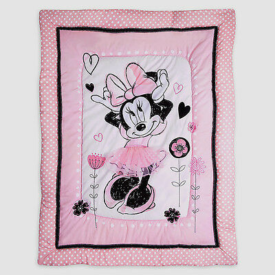 Disney Minnie Mouse Hello Gorgeous Crib Bedding (Comforter Only)