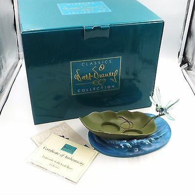 WDCC Disney THE RESCUERS Evinrude w/ Leaf Base 25th Anniversary Figurine Box COA