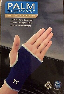 Pair Wrist Hand Brace Elastic Palm Support Carpal Tunnel Tendonitis Pain Relief