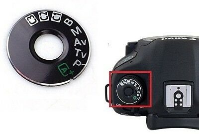 For Canon EOS 5D Mark III 5D3 Camera Function Dial Mode Interface Cap Repair kit
