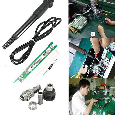 DIY Soldering Handle Kit Set For HAKKO T12 Solder Iron Station Welding Hobby