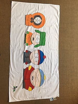 South Park gang beach towel by Franco, 1998 Comedy Central