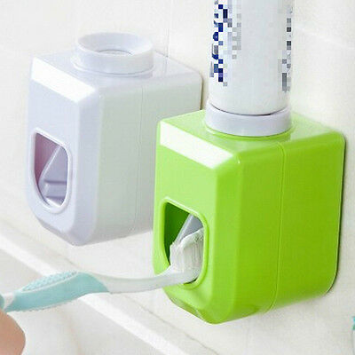Touch Automatic Auto Squeezer Toothpaste Dispenser Hands Free Squeeze out 3C