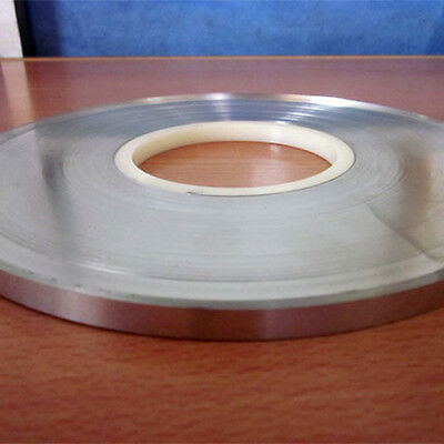 2m( 6.56FT) Spot Welding Tape Nickel Strip Sheet For Li Battery Pack 5mm x 0.1