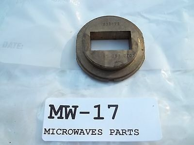 Waveguide brass flange choked, EAC/XD (MW17), NOS