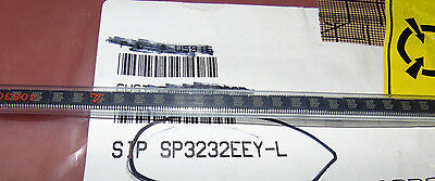 QTY 15-SP3232EEY-L- RS-232 Interface IC RS232 120 kbps temp -40C to 85C