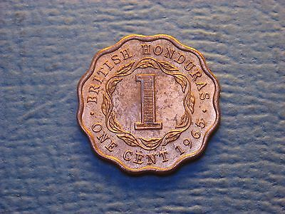 British Honduras   One  Cent  1965