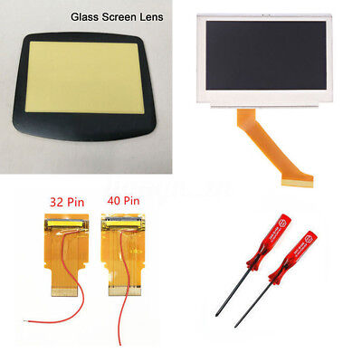 LCD Backlight Kit 32/40 Pin For Gameboy Advance GBA SP AGS-101 Backlit Screen