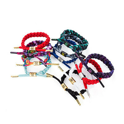 NEW 29 Colors RASTACLAT Classic Shoelace Wristband Bracelet Multiple WRISTBAND