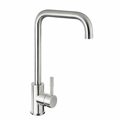 360°Swivel Stainless Steel Figure 7 Mixer Tap Kitchen Laundry wels Basin Sink