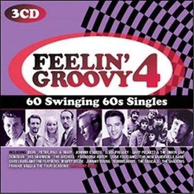 Feelin' Groovy Volume 4 Various Artists 3 Cd New