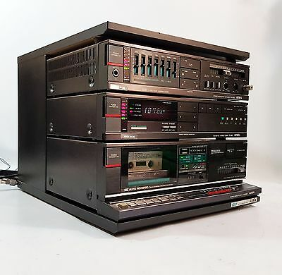 Aiwa V series Midi System in RK-X80 Rack - GWO, No Remote - FREE UK DELIVERY
