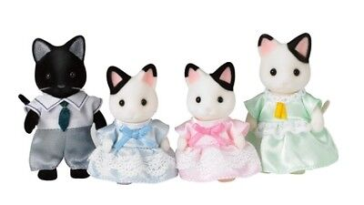 Sylvanian Families Tuxedo Cat Family, Another Family for Your Collection