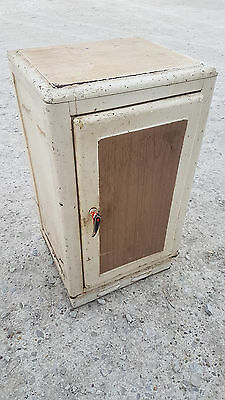 Vintage Retro Industrial Metal Cabinet Cupboard Kitchen Storage Pantry