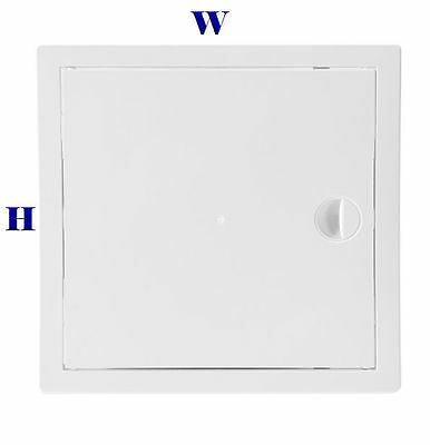Abs Access Panel White Inspection Door Revision 150Mm 200Mm 250Mm 300Mm 400Mm