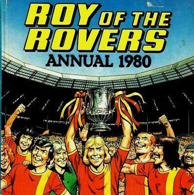 ROY OF THE ROVERS Comics & Annuals on DVD - Over 250 COMICS & Reading Software