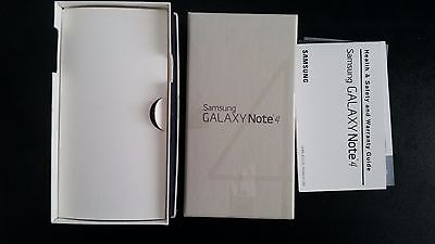 Samsung Galaxy Note 4 Health & Safety Guide & Empty Box FastShip!!!