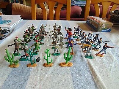 Timpo plastic toy soldiers