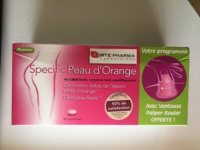 Forté Pharma Specific Peau d'Orange 56 Comprimés + Ventouse Offerte