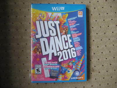 Just Dance 2016 - Nintendo Wii U -  Brand New, Factory Sealed
