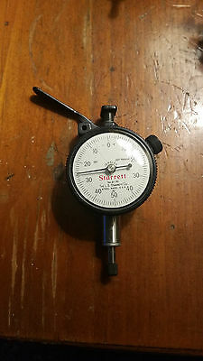 Starrett No. 81-141 Dial Indicator Jeweled  .001""