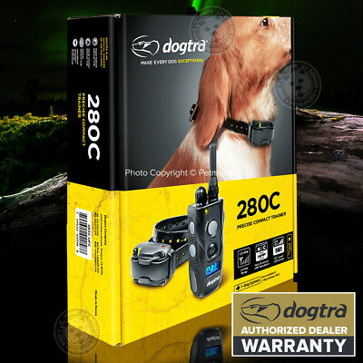 Dogtra 280C Ultra-Compact Remote Dog Training Collar System 1/2-Mile Waterproof
