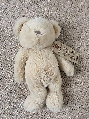 NEXT BABY MY BEST FRIEND TEDDY BEAR SOFT TOY COMFORTER BNWT Plush hug beige 11""