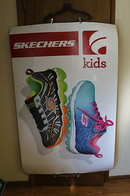 2016 Famous Footwear Nike Air Max/Sketchers B Sketch 2 Sided Promotional Poster
