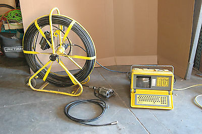 pearpoint pipeline video camera complete system P442 computer, 419 camera, etc
