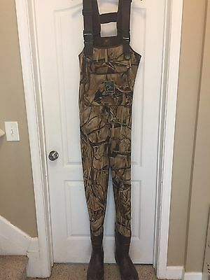 DUCKS UNLIMITED Mad Dog Gear Fishing Chest Waders Size 11R