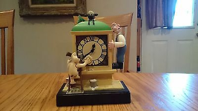 1998 Wallace and Gromit Moving Musical Alarm Clock Shaun the Sheep Wesco Motion