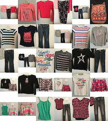Girls Size 10, 10/12 Clothing, Justice Tops, Jeans, Skirts, Clothes, Outfits Lot