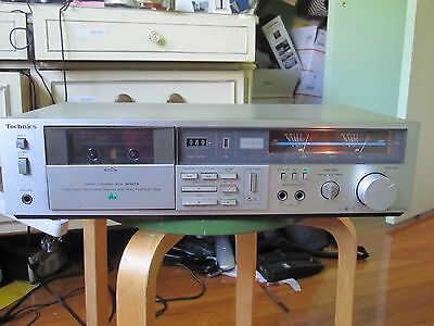 Vintage (Technics) Stereo Cassette Deck Texting Working Very Good Model M227X