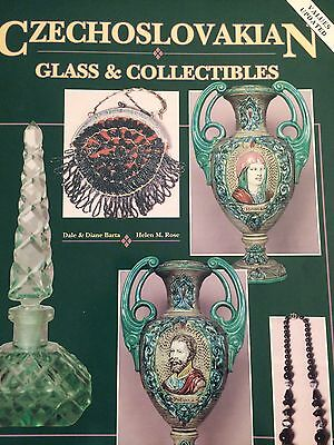 Czechoslovakian Glass & Collectibles ID & Value Guide Book I