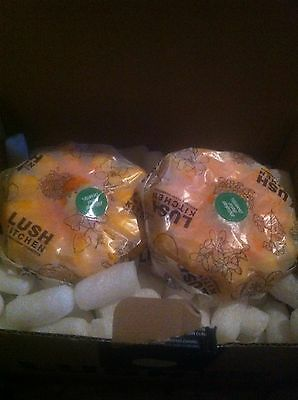 Lush Kitchen Exclusive Sunflower Bubble Bar  X 2 *Cracked*