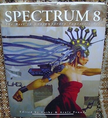 BOOK Spectrum 8 ~ The Best in Contemporary Fantastic / Fantasy Art HARDCOVER