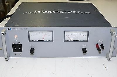 Hp 6448B 0-600 Vdc @ 1.5 A Adjustable Regulated Power Supply - Working Great
