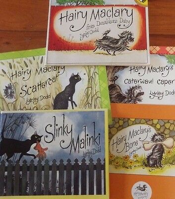 Hairy Maclary By Lynley Dodd Pack Of 5 Assorted Books  Vgc