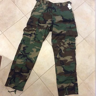 BDU Woodland Green Camo - Pants Medium -new with tags