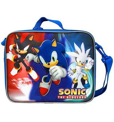 Sonic the Hedgehog Insulated Lunch Box Bag Licensed New with Tags by SEGA NWT